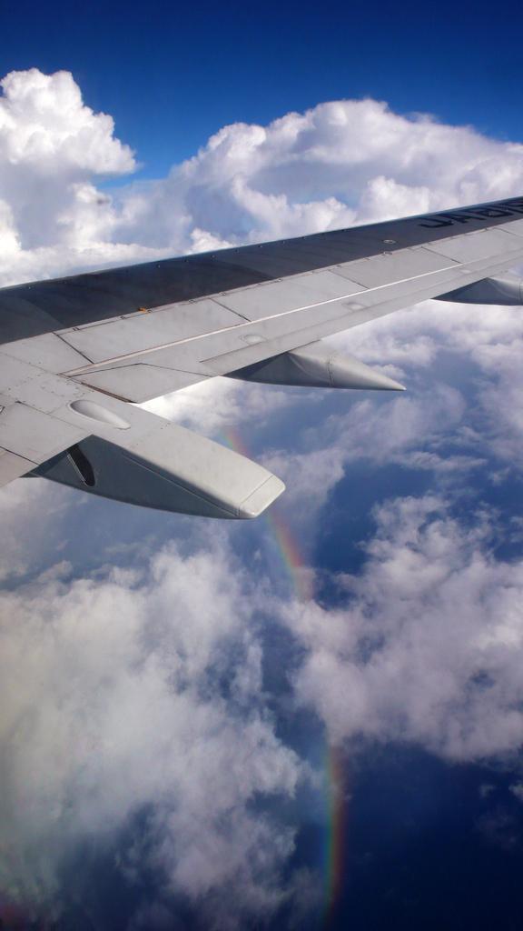 虹~737空から