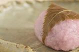 桜餅( ^^) _旦~~どうぞ。