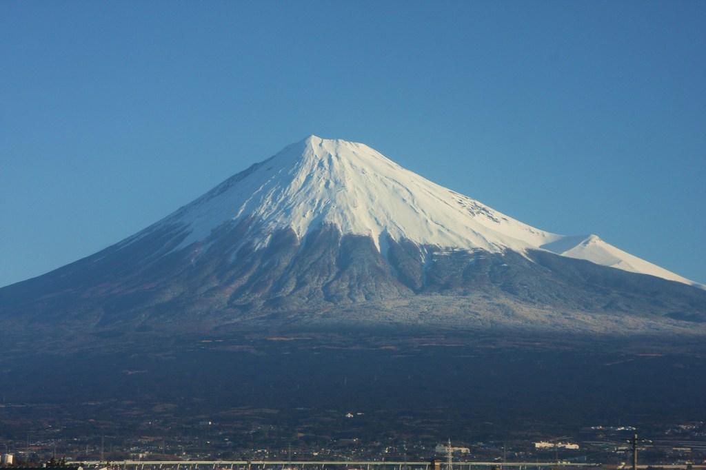 富士からの富士山