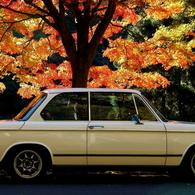 NIKON NIKON D70で撮影した乗り物(BMW 2002 tii)の写真(画像)