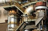 階段と配管