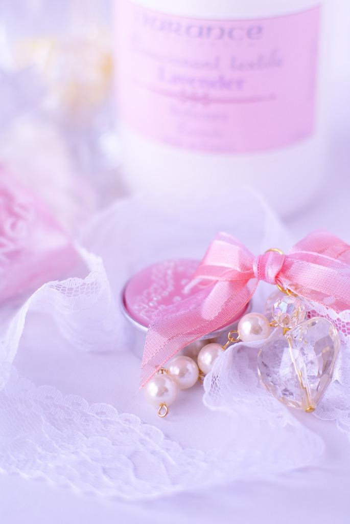 ピンクとパールと