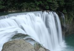 台湾・十分瀑布