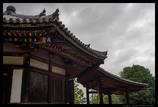 古寺の屋根