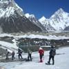 K2のベ-スキャンプへ