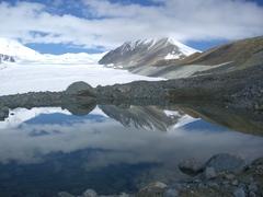 氷河湖(アルタイ山脈)