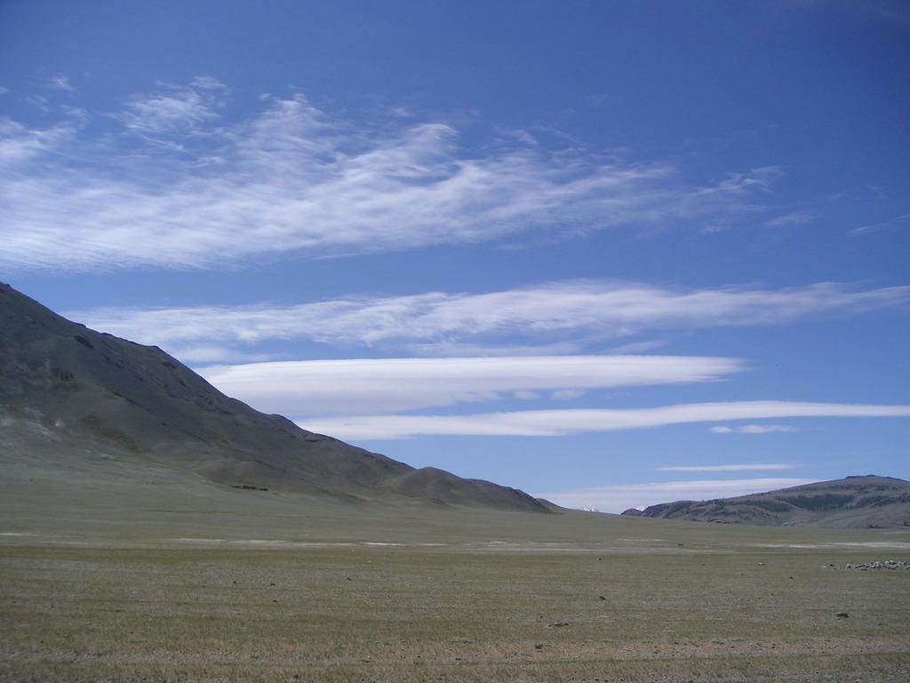 モンゴルの雲