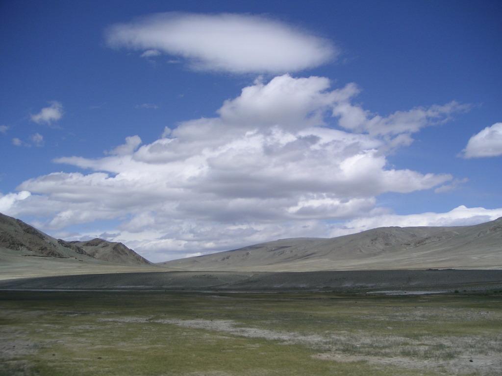 大地と雲と