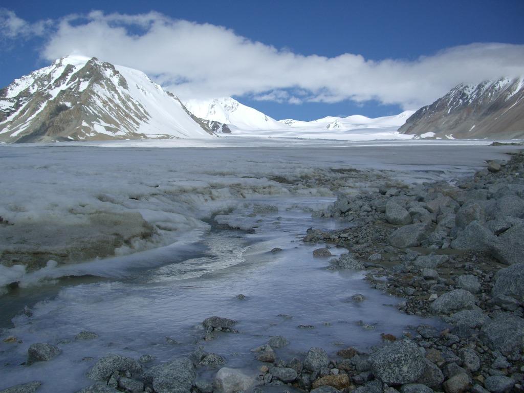 ボタ-ニン氷河(アルタイ山脈)