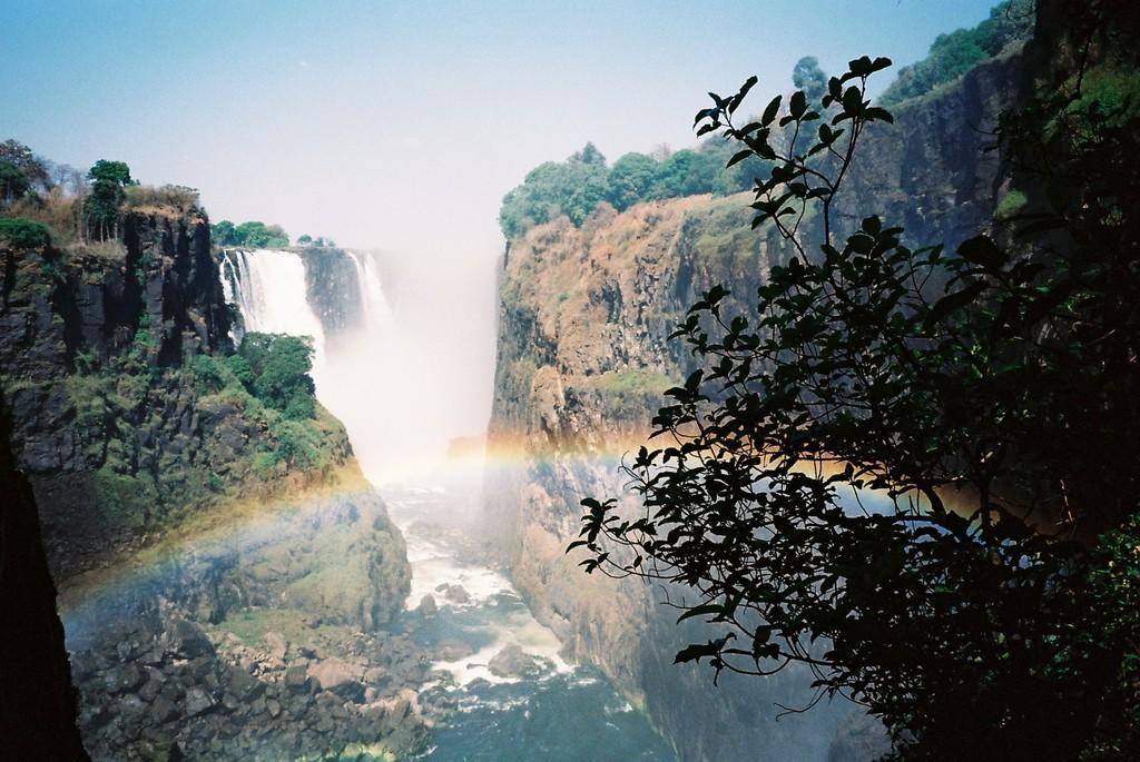 ビクトリアの滝(アフリカ)