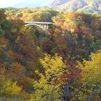 CASIO EX-Z1000で撮影した風景(鳴子峡)の写真(画像)