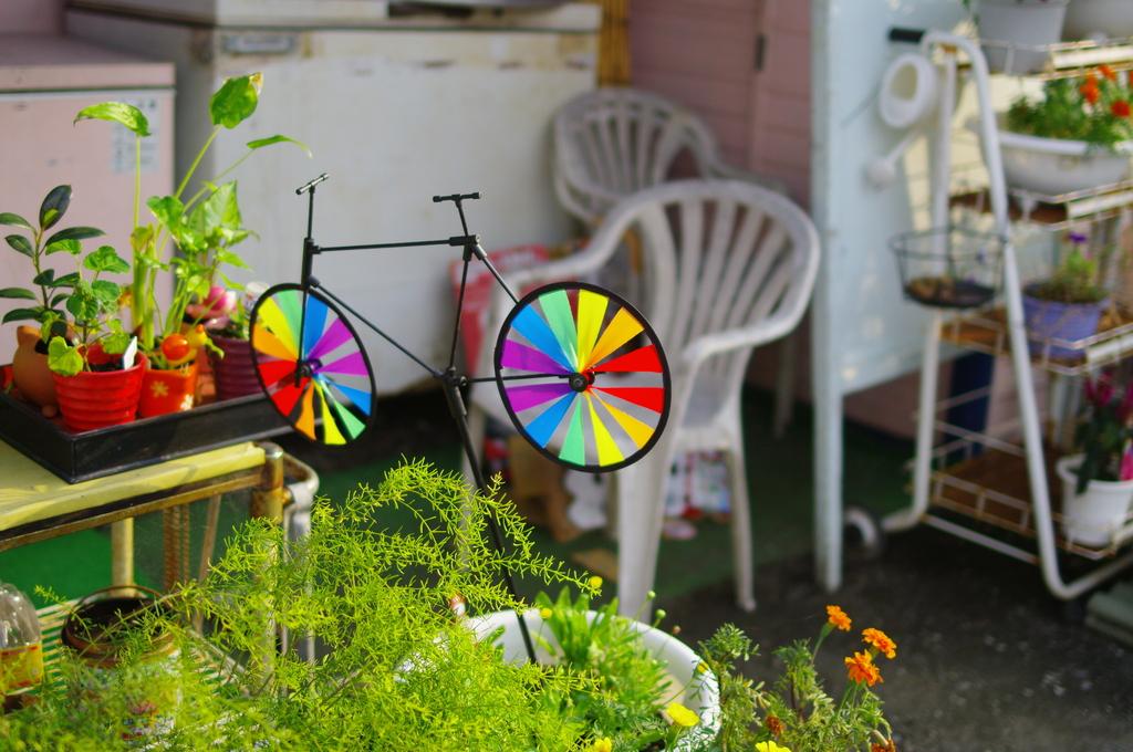 虹色自転車
