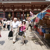 真夏の浅草寺
