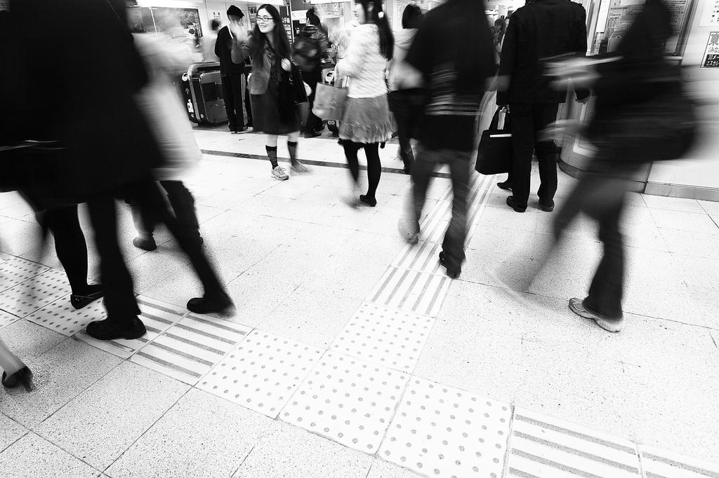 渋谷駅改札付近