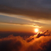 日の出  赤岳