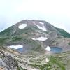 白山御前峰からの大汝峰