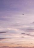 夕暮れと飛行機 Ⅳ