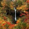 晩秋の曽利滝