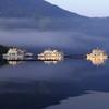 朝の遊覧船