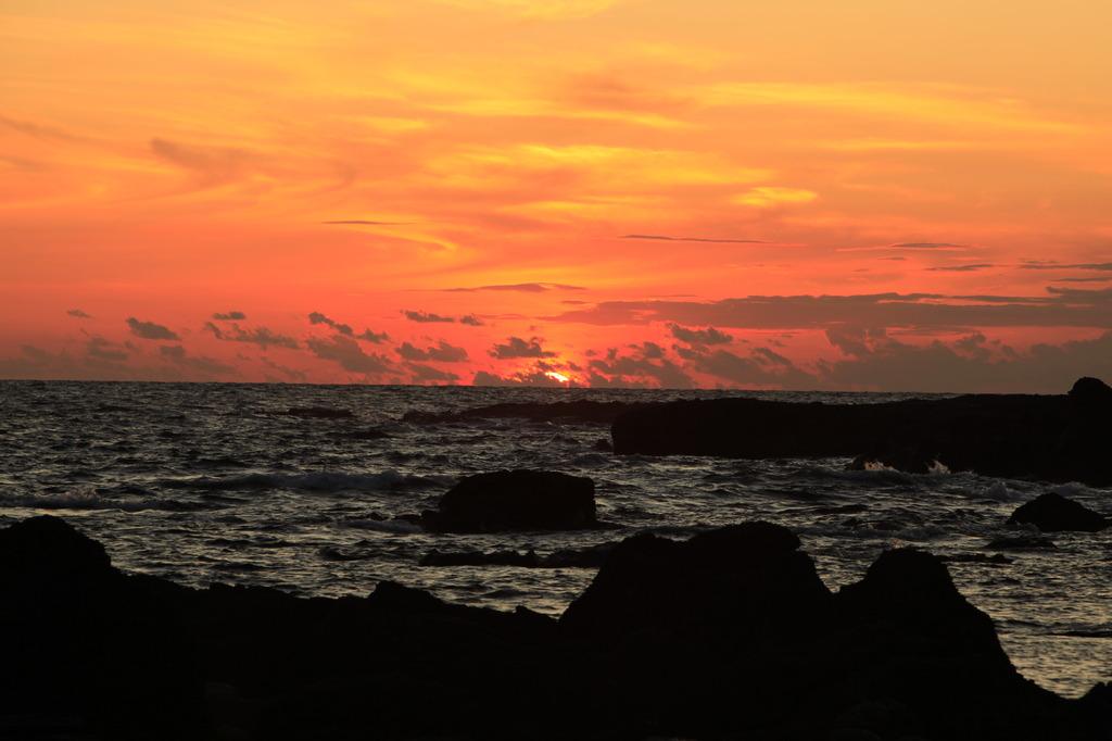 日本海の夕景2