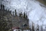 氷の歯並び