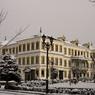 CANON Canon EOS 40Dで撮影した風景(冬の鉱山事務所)の写真(画像)