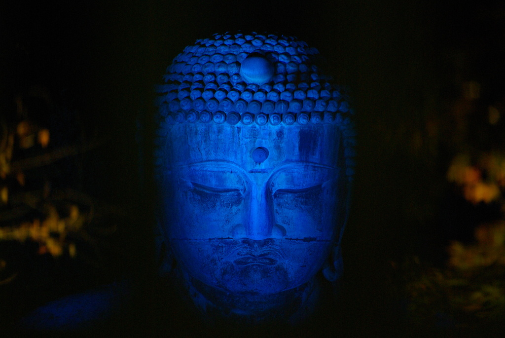 Blue Great Buddha