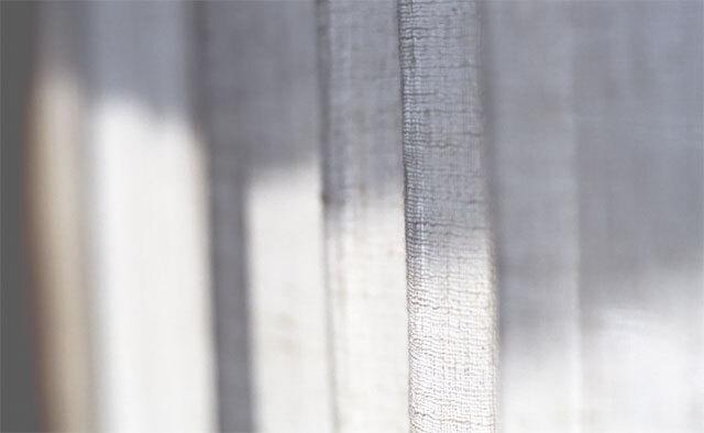 オーガニックコットンカーテン