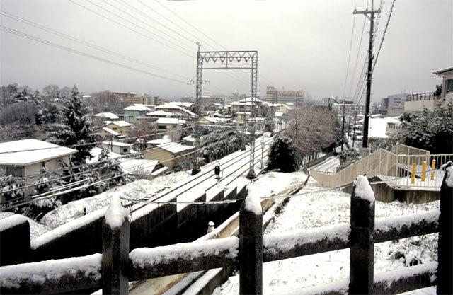 学園前・ねんまつ雪