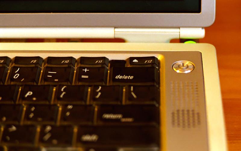 PowerBook G4 U.Sキーボード
