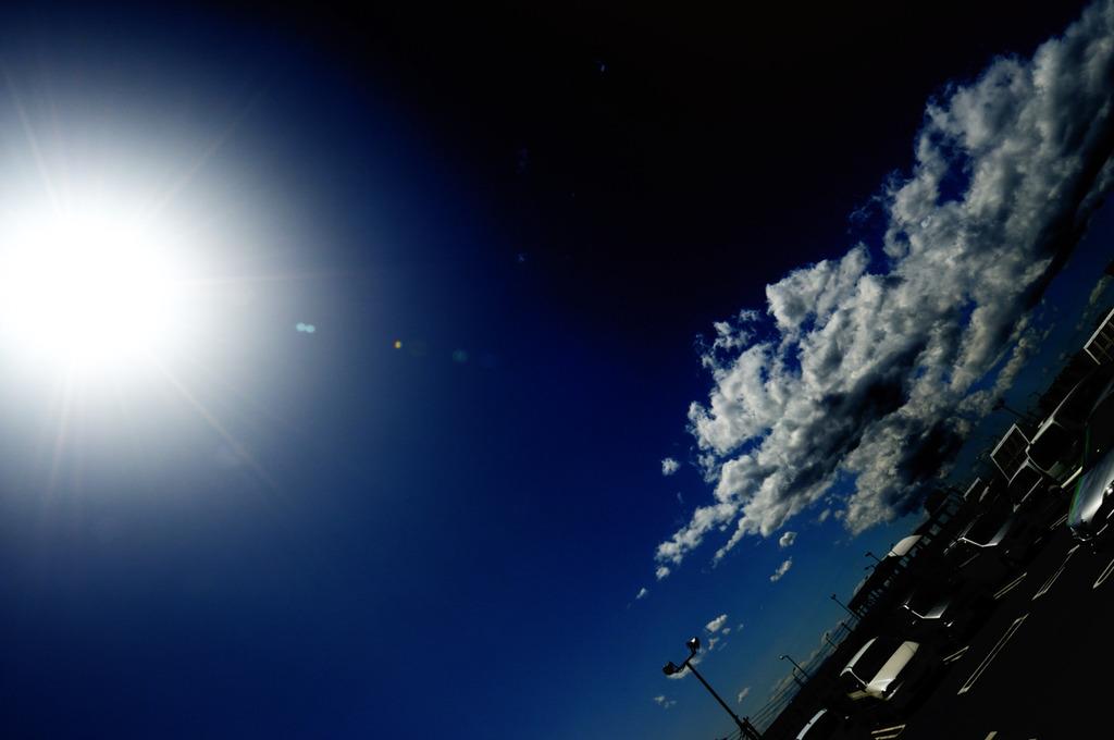 太陽と雲と・・