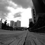 NIKON NIKON D300で撮影した人物(昼下がり)の写真(画像)