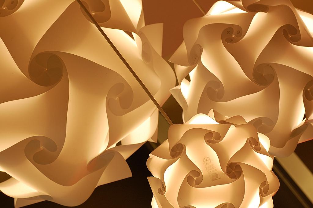 a modern light