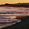 夕暮れの浜①
