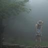 霧の中に・・
