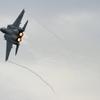 F15 のベイパーとアフターバーナーの迫力に・・・