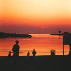 OLYMPUS E-3で撮影した風景(日没~海⑥)の写真(画像)