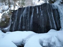 達沢不動滝 2018雪の季節
