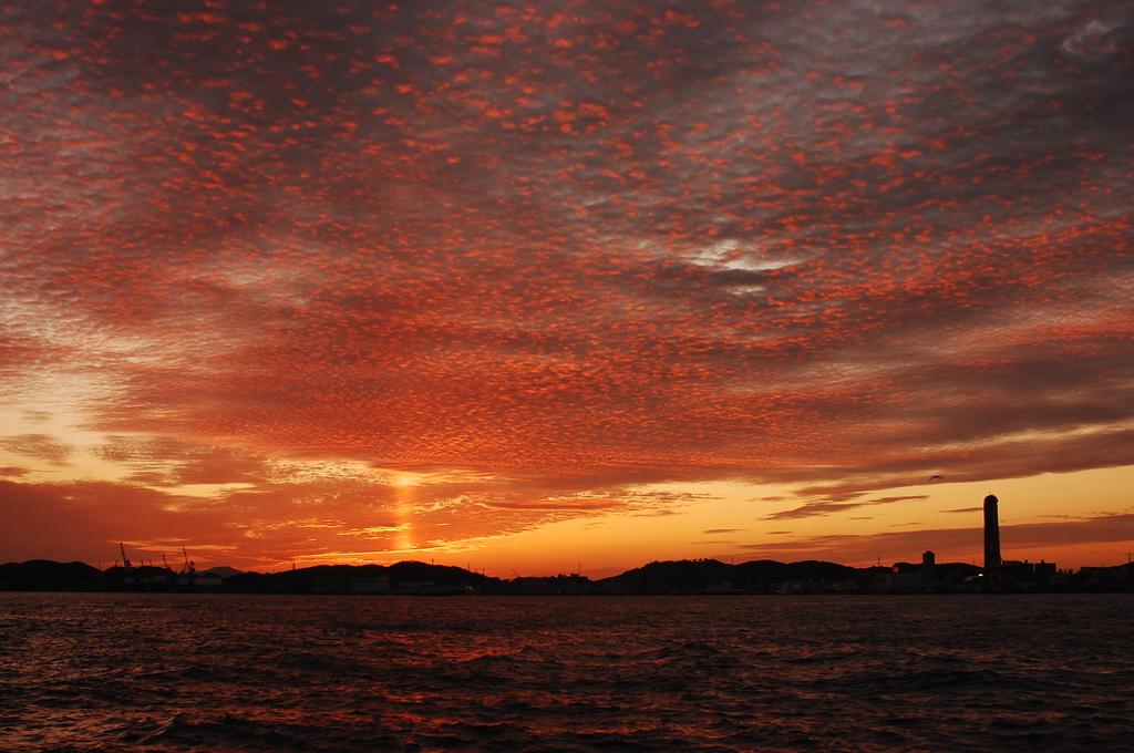 郷愁の夕陽