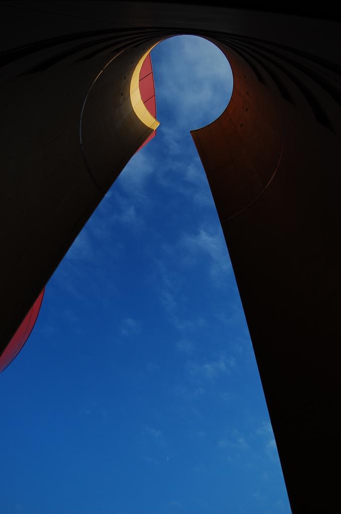 Keyhole of the sky