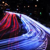 NIKON NIKON D300で撮影した風景(traffic network)の写真(画像)