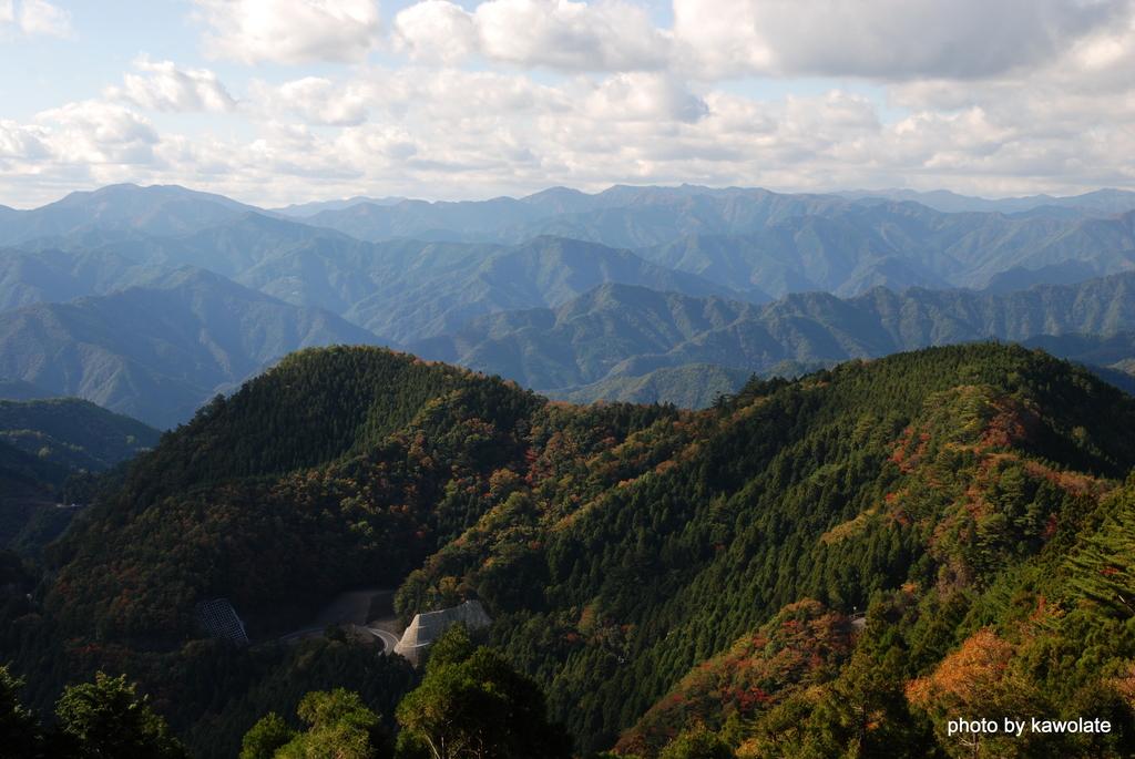 山、山、山、十津川村