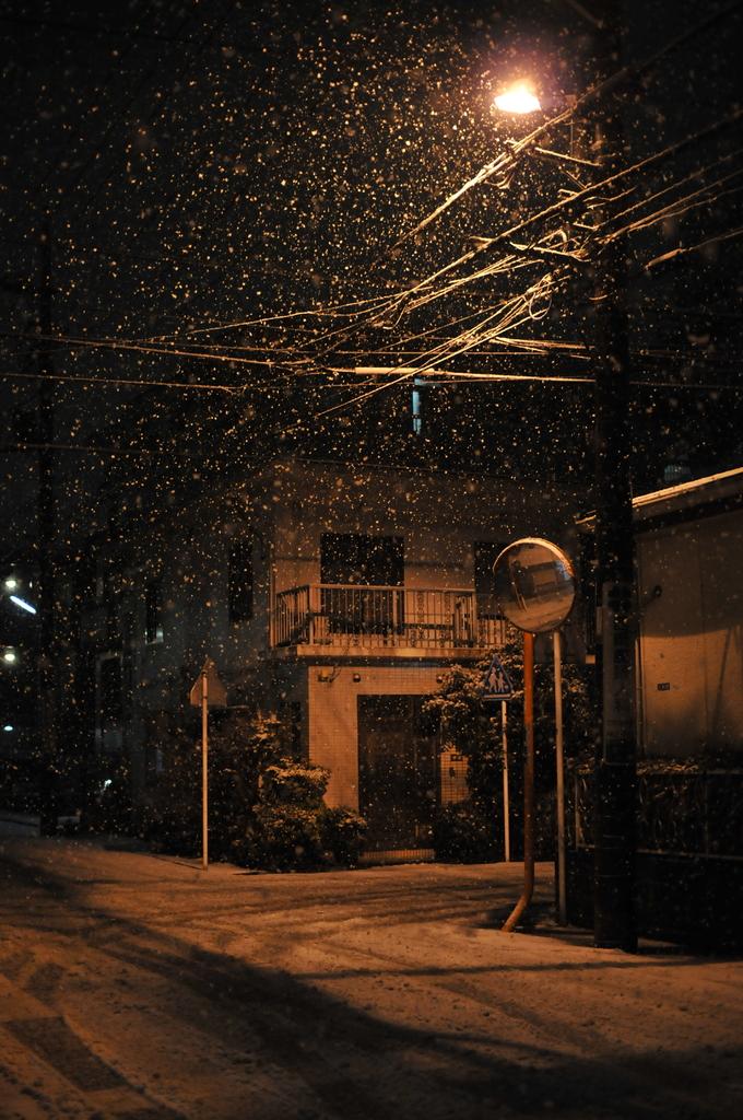 雪は降るあなたは来ない