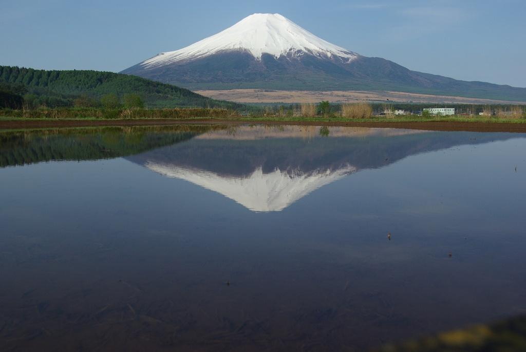 ひし形富士山