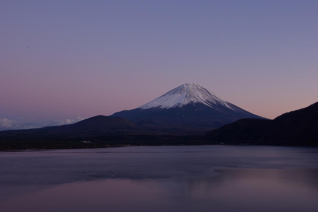 富士山 夕