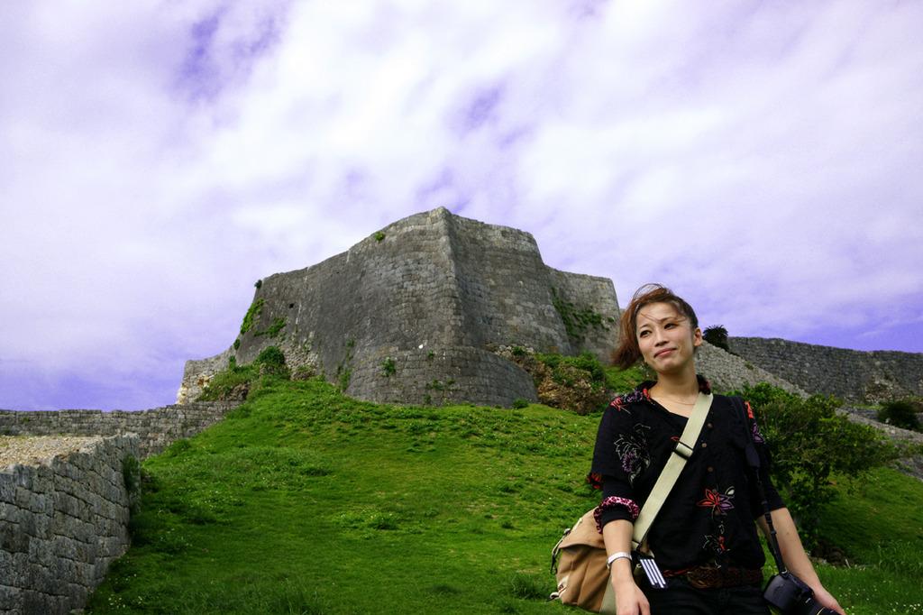 世界遺産 沖縄 勝連城跡-4