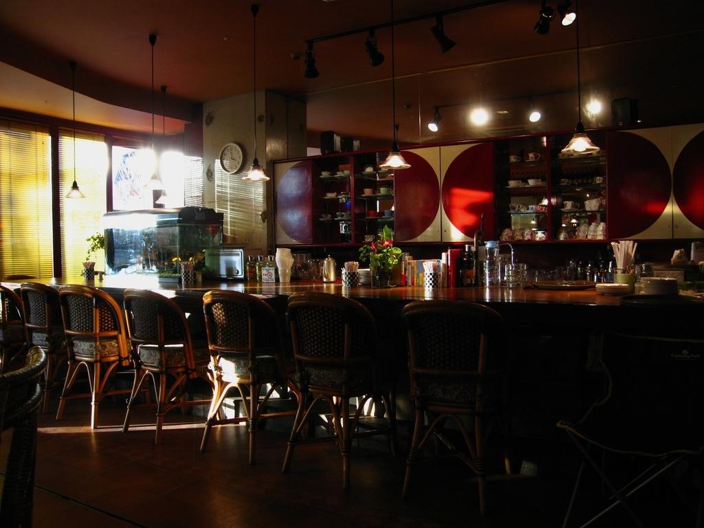 午後のカフェ