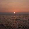 豊前海に沈む夕日1