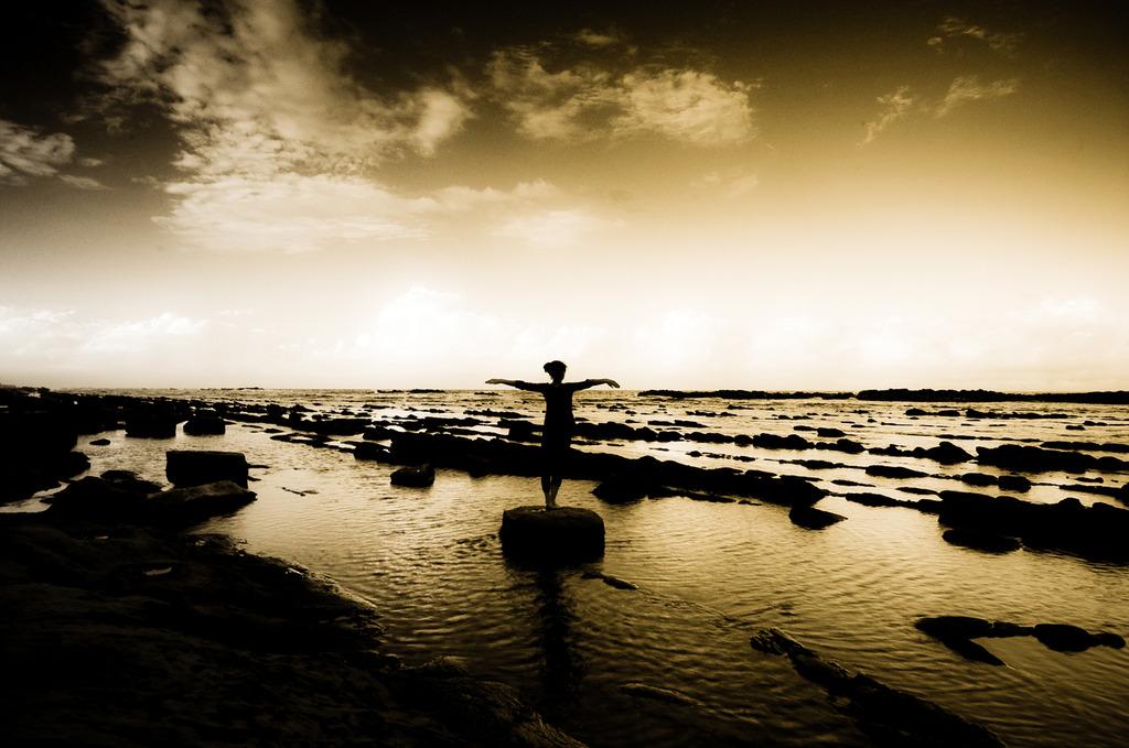 Sea breaze (summer memory)