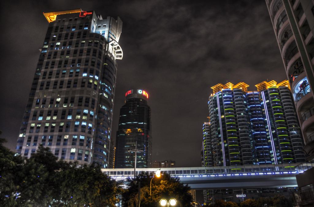 私の住む町(夜景)